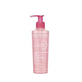 Gel rửa mặt tạo bọt cho da nhạy cảm Bioderma Sensibio Gel Moussant - 200ml