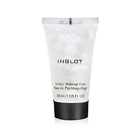 Kem lót hút dầu Inglot Face Under Makeup Base (30ml)