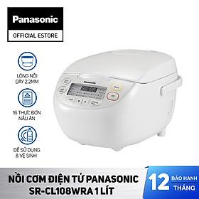 Nồi cơm điện tử Panasonic SR-CL188WRA 1.8 lít / SR-CL108WRA 1 lít - Hàng chính hãng
