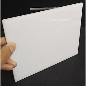 Bộ 5 Tấm nhựa mica trắng sữa A4 21x30cm