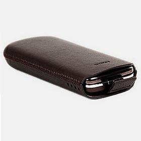 Bao da cầm tay dây rút Nokia 8800 Gold Carbon Sapphire Arte (da thật)