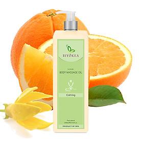 Dầu Massage Body Biyokea  Luxury Calming Oil (làm dịu) - 1000ml