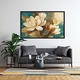 Tranh canvas treo tường hoa nghệ thuật - HC002