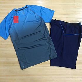 Bộ quần áo thể thao nam phối màu