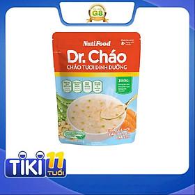 Cháo tươi dinh dưỡng Dr.Cháo gói 240g - Cá hồi đậu hà lan hạt sen