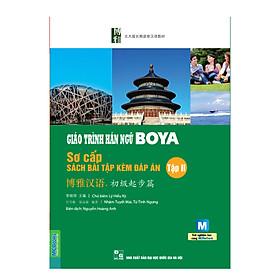 [Download sách] Giáo Trình Hán Ngữ Boya Sơ Cấp II - Sách Bài Tập Kèm Đáp Án (Dùng App MCBooks)