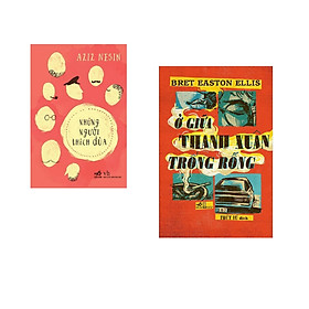 Combo 2 cuốn sách: Những người thích đùa  + Ở giữa thanh xuân trống rỗng