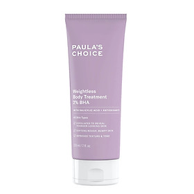 Kem Dưỡng  Thể Paula's Choice Weightless Body Treatment 2% BHA 210ml