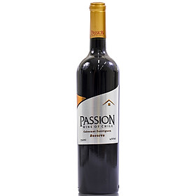 Rượu Vang Đỏ Passion Reserva Chai 750ml 14% Không Hộp