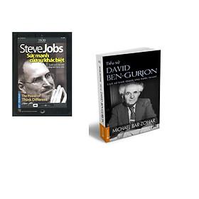 Combo 2 cuốn sách: Steve Jobs - Sức Mạnh Của Sự Khác Biệt + Tiểu Sử  Ben-  Gurion
