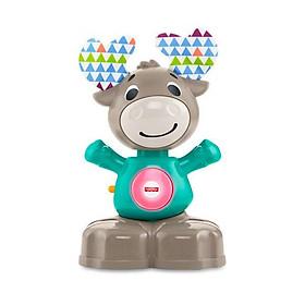 Hươu đồ chơi phát sáng cùng âm nhạc cho bé LINKIMALS Fisher-Price