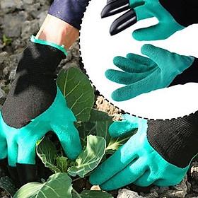 Găng Tay  Bao Tay chống thấm nước  kèm móng cao cấp dùng để trồng cây, làm vườn