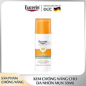 Kem Chống Nắng Eucerin Sun Gel-Cream Dry Touch Oil Control SPF50+ Cho Da Nhờn & Mụn  50ml
