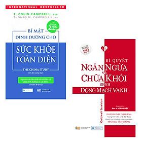 Combo 2 Cuốn Sách Y Học: Bí Mật Dinh Dưỡng Cho Sức Khỏe Toàn Diện, Bí Quyết Ngăn Ngừa Và Chữa Khỏi Bệnh Động Mạch Vành
