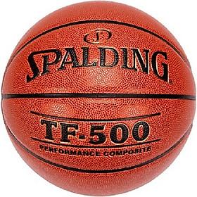 Bóng rổ Spalding TF500 Perfomance- Indoor/ Outdoor Size 7 (74-529Y)- Tặng kim và túi lưới đựng bóng
