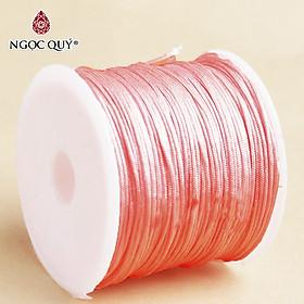 Bó 10-20m dây vải dù 0.8mm đan vong đủ màu - Bó dây vải dù 0.8mm handmade Ngọc Quý Gemstones
