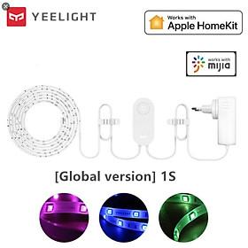 ĐÈN LED DÂY THÔNG MINH YEELIGHT LIGHTSTRIP PLUS 1S – BẢN GLOBAL - Nâng Cấp 2020 Hỗ trợ Apple Homekit