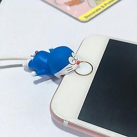 Cable Bite Bảo Vệ Dây Cáp Sạc Điện Thoại Hình Mèo Máy Doraemon