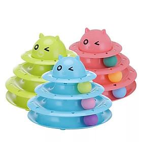 Bộ đồ chơi cho mèo 3 tầng