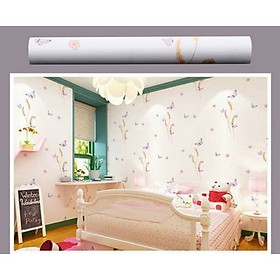 5m Giấy decal cuộn hoa cỏ DT40