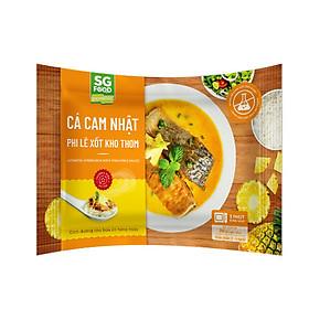 [Chỉ Giao HCM] - Cá Cam Nhật Phi Lê Xốt Kho Thơm Sài Gòn Food Gói 240g
