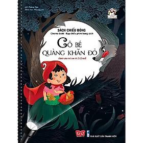 Cuốn sách độc đáo lần đầu tiên xuất hiện tại Việt Nam:  Sách Chiếu Bóng - Cinema Book - Rạp Chiếu Phim Trong Sách - Cô Bé Quàng Khăn Đỏ