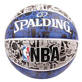 Banh Bóng Rổ Spalding 65-846Y NBA