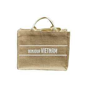 Túi vải đay Bonjour Vietnam (Vers 3)