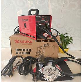Máy hàn MIG không dùng khí 3 chức năng SASUKE MIG200 MINI cuộn dây 1kg.