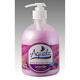 Sữa rửa tay Aquala Hương Lavender (500ml)