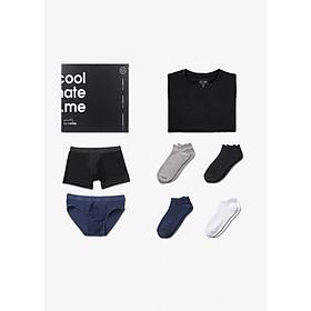 Men's Box - Tủ đồ tiện lợi siêu tiết kiệm cho nam, áo thun quần lót và tất vớ thương hiệu Coolmate
