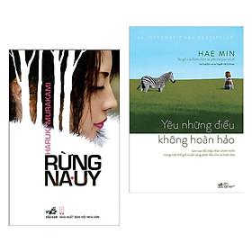 Combo Tiểu Thuyết Hấp Dẫn: Rừng Na Uy + Yêu Những Điều Không Hoàn Hảo (2 cuốn/ Tặng kèm Bookmark Happy Life)