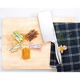 Dao Đầu Bếp Pro-Asian Chopper Tupperware, Dao Băm Thịt, Hành Tỏi, Thép Không Gỉ Cao Cấp