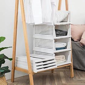 Combo 4 ngăn kéo tủ quần áo thông minh có thể gấp gọn