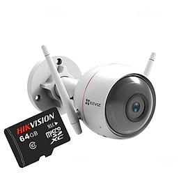 Camera IP Wifi EZVIZ C3W 720P (CS-CV310) + Tặng thẻ nhớ Hikvision 64GB - Hàng Chính Hãng
