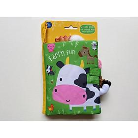 Farm Fun Cloth Book - Sách Vải Chủ Đề Về Nông Trại Vui Vẻ