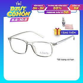 Gọng kính, mắt kính chính hãng SARIFA LD2404 C8 - Tặng 1 khăn và nước lau kính