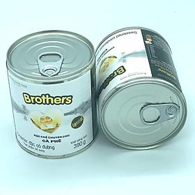Combo 2 Lon Sữa đặc có đường Brothers Trung Nguyên( 390gam/Lon)