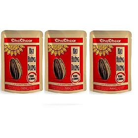 Hạt hướng dương Chacheer vị ngũ vị hương-130g/gói ( Lốc 3 gói )