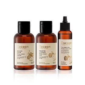 Combo Chăm sóc da mụn cơ bản Cocoon: Gel bí đao rửa mặt Cocoon 140ml + Nước bí đao cân bằng da Cocoon 140ml + Tinh chất bí đao Cocoon 70ml