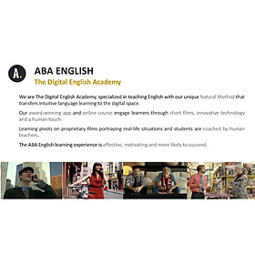 Khóa học online ABA English - Gói 12 tháng