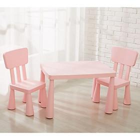 Bộ bàn ghế trẻ em phong cách Nhật gồm: 1 bàn và 2 ghế