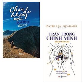 Combo 2 cuốn lý thú dành tặng tuổi trẻ: Chân Đi Không Mỏi - Hành Trình Đông Nam Á + Trân Trọng Chính Mình