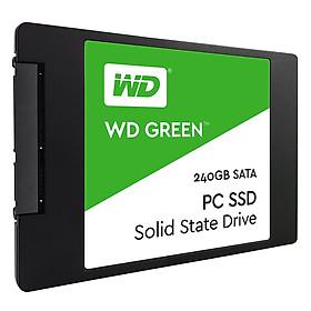 Ổ Cứng SSD WD Green 240GB 3D NAND - WDS240G2G0A - Hàng Chính Hãng