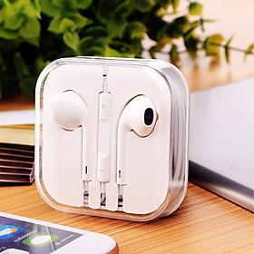 Tai nghe nhét tai có dây loại tốt AURU71 dành cho các dòng iphone 5 iphone 6 hàng chính hãng