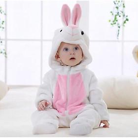 Bộ áo liền quần bằng lông hình thú cho bé ( nhiều mẫu)
