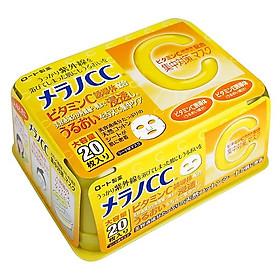Mặt nạ dưỡng trắng phục hồi tinh chất vitamin c Cc Melano