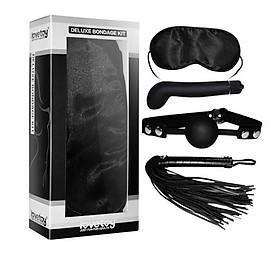 Bộ Dụng Cụ Tình Dục BDSM Cao Cấp 4 Món Lovetoy Deluxe Bondage Kit