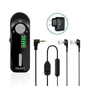 AXON C-06 Rechargeable Digital Hearing Aid Personal Sound Amplifier Hearing Assistance Device Noise Reduction with