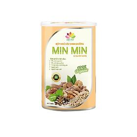 Bột Ngũ Cốc Lợi Sữa Min Min 500G Mẫu Mới 29 Loại Hạt Cao Cấp - Ngũ Cốc Dinh Dưỡng Kèm 1 thìa ăn dặm cho bé 100% silicon